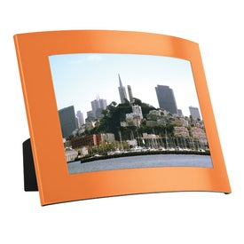 The Curve Photo Frame Branded with Your Logo