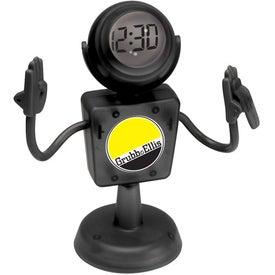The MEMOMAN(TM) - Document Holder Clock