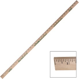 "Thick Natural Yardstick (36"")"