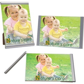 Three Piece Clip Frame with Your Slogan