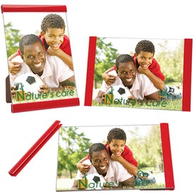 Branded Three Piece Clip Frame