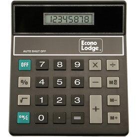 Advertising Tilt Display Desktop Calculator