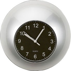 Customized Time in Round Wall Clock