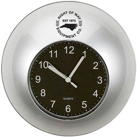 Time in Round Wall Clock