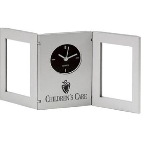 Time and Picture Clock / Pen Cup for Your Company
