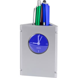 Promotional Time and Picture Clock / Pen Cup