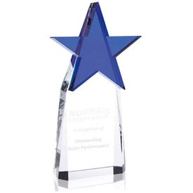 Top Star Award with Your Slogan