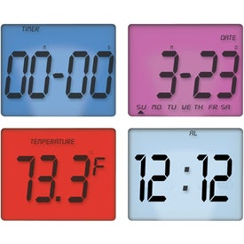 Promotional Touch Sensitive Multi Function Clock