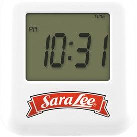 Touch Sensitive Multi Function Clock