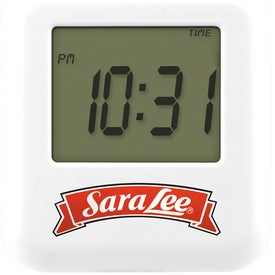 Touch Sensitive Multi Function Clock with Your Logo