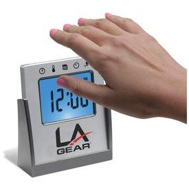 Imprinted Touch Sensitive Multi Functional Alarm Clock