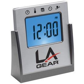 Monogrammed Touch Sensitive Multi Functional Alarm Clock