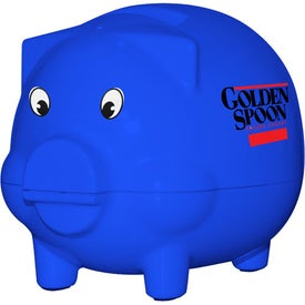 Tracker Piggy Bank with Your Logo