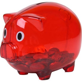 Translucent Piggy Bank for Customization
