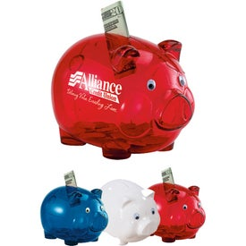 Translucent Piggy Bank for Your Church