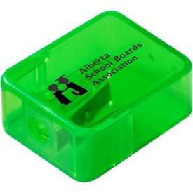 Imprinted Translucent Pencil Sharpener