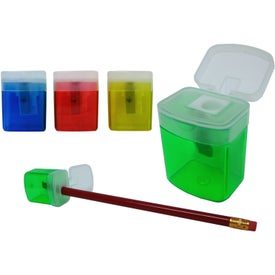 Customized Translucent Pencil Sharpener