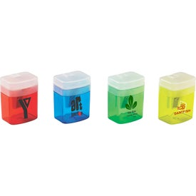 Monogrammed Translucent Pencil Sharpener