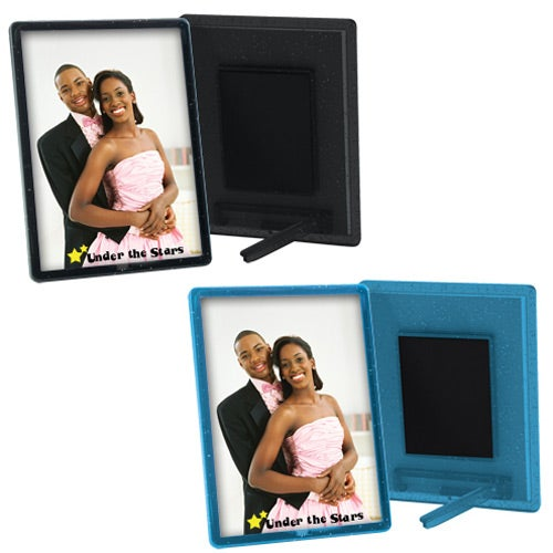 Promotional 2 1/2 x 3 1/2 Translucent Magnetic Snap-In Frames with ...