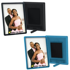 Branded Translucent Magnetic Snap-In Frame