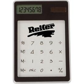 Printed Transparent Calculator