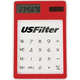 Advertising Transparent Calculator
