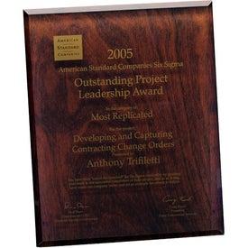 Printed Trillinnium Award Plaque
