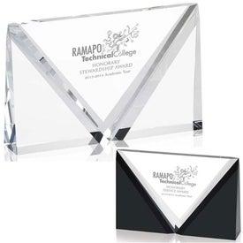 Trio Award with Your Slogan