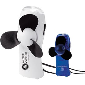 Turbo Mini Fan/Flashlight