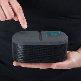 Monogrammed Turbo Speaker