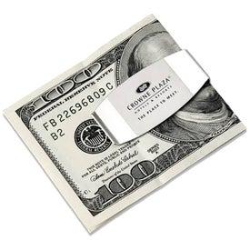 Two Tone Silver Money Clip