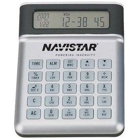 USB 4 Port Hub Calculator / Clock with Extension Cord