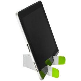 Branded V-Fold Tablet Stand
