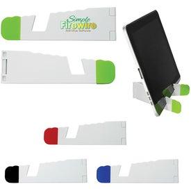 Advertising V-Fold Tablet Stand