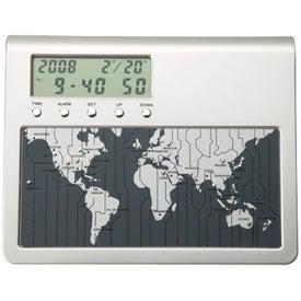Customized Vaghi II Digital World Time Clock and Calendar