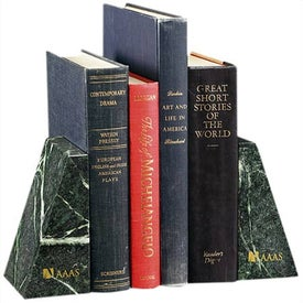 Verde Marble Bookend