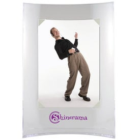 Vertical Curved Frame Printed with Your Logo
