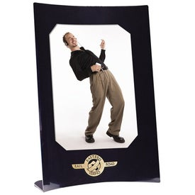 Vertical Curved Frame with Your Logo