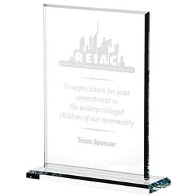 Vertical Gem Cut Award (Large)