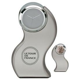 Vigne Clock and Photo Frame