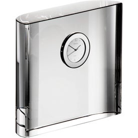 Orrefors Vision Square Desk Clock for your School