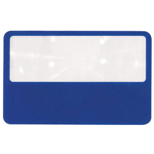 Blue Wallet Magnifier With Case