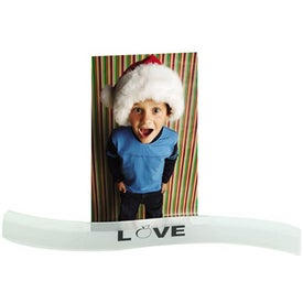 Promotional Wavy Photo Holder
