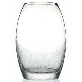 Winter Frost Vase Branded with Your Logo
