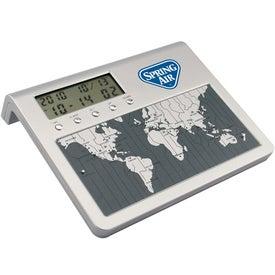 Promotional World Time Desk Clock