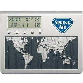 Custom World Time Desk Clock