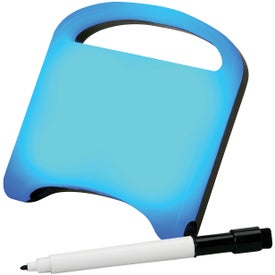 Write On Wipe Off Message Center with Your Logo