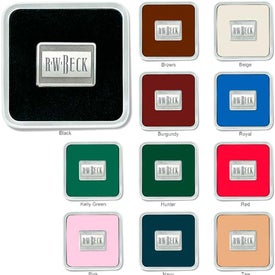 Imprinted Zinc Square Coaster Weight Coaster