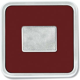 Zinc Square Coaster Weight Coaster for Advertising