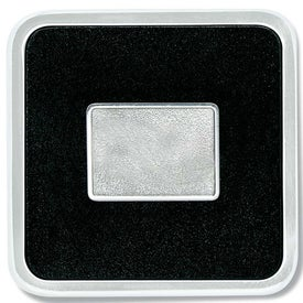 Zinc Square Coaster Weight Coaster for your School